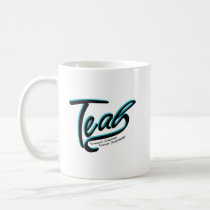 Teal Support Ovarian Cancer Awareness Coffee Mug
