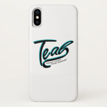 Teal Support Ovarian Cancer Awareness iPhone X Case