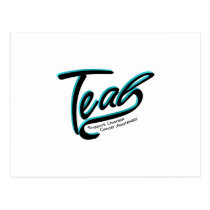 Teal Support Ovarian Cancer Awareness Postcard