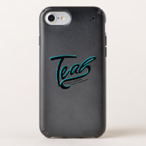 Teal Support Ovarian Cancer Awareness Speck iPhone Case