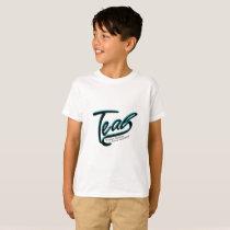 Teal Support Ovarian Cancer Awareness T-Shirt
