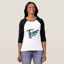 Teal Support Ovarian Cancer Awareness T-Shirt