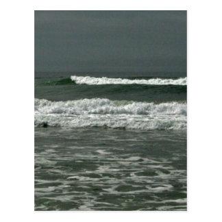 Teal Surf Postcard