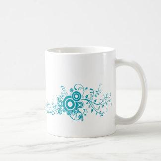 Teal Swirl Coffee Mug