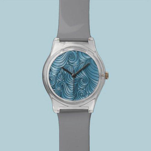 Teal Swirl Watch