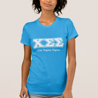 Teal Tee with White Letters
