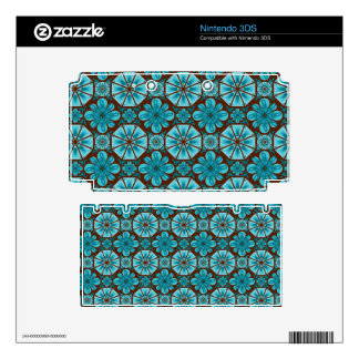 Teal Tile Decal For 3DS