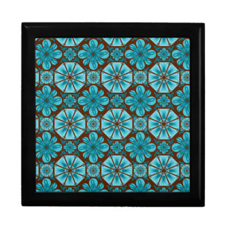 Teal Tile Gift Box