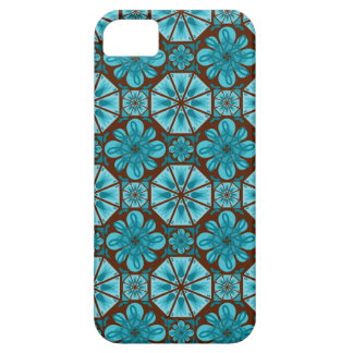 Teal Tile iPhone 5 Cases