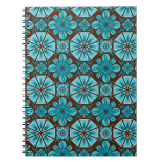 Teal Tile Note Books