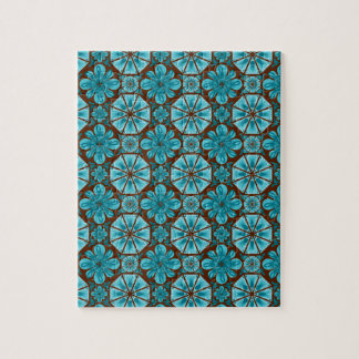 Teal Tile Puzzles