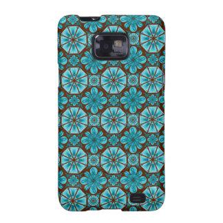 Teal Tile Samsung Galaxy SII Case