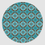 Teal Tile Stickers