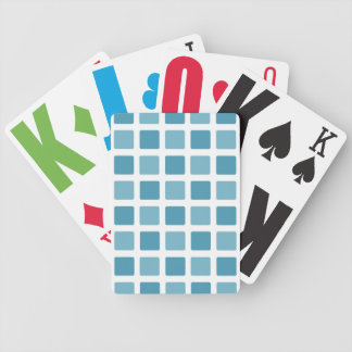 Teal Tiles Bicycle Playing Cards