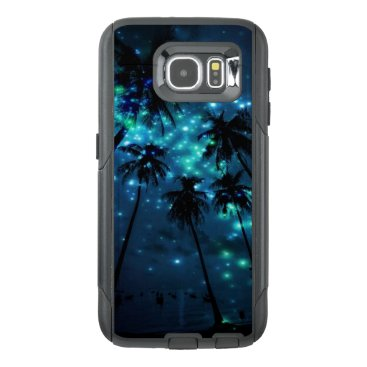 Teal Tropical Paradise Samsung Galaxy S6 Otterbox