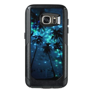Beach Themed Teal Tropical Paradise Samsung Galaxy S7 Otterbox