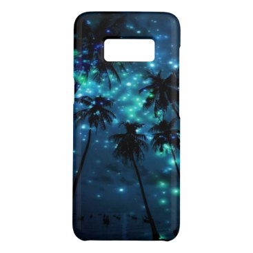 Beach Themed Teal Tropical Paradise Samsung Galaxy S8 Case