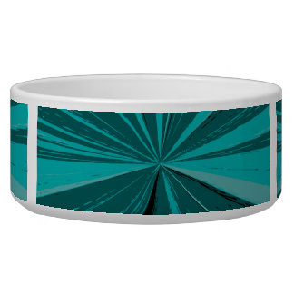 Teal Vanishing Point Bowl