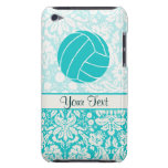 Teal Volleyball Case-Mate iPod Touch Case