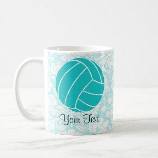 Teal Volleyball Coffee Mug
