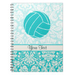 Teal Volleyball Notebook