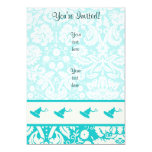 "Teal Wakeboarder 5"" X 7"" Invitation Card"