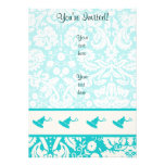 Teal Wakeboarder Personalized Invites