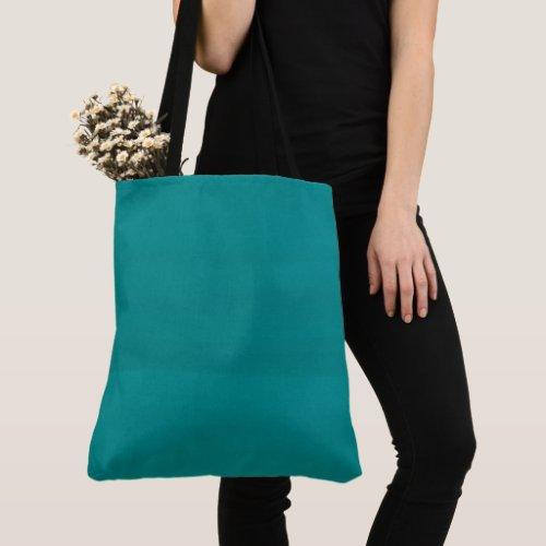 Teal Watercolor Brushstrokes Tote Bag