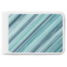Teal Watercolor Painted Stripes (teal, Cyan, Blue) Power Bank at Zazzle