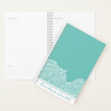 Teal Waves Planner