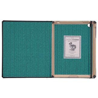 Teal Weave Mesh Look Covers For iPad