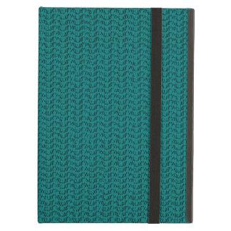 Teal Weave Mesh Look iPad Air Cover