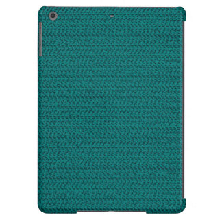 Teal Weave Mesh Look iPad Air Covers
