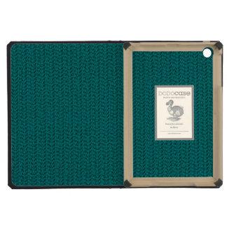 Teal Weave Mesh Look iPad Mini Retina Case