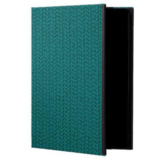 Teal Weave Mesh Look Powis iPad Air 2 Case