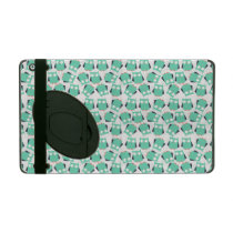 Teal Whimsical Owls iPad Cover