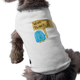 Teal wind power T-Shirt
