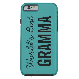 Teal World's Best Gramma Custom iPhone 6 Case