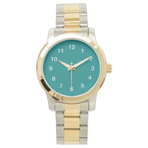 Teal Wrist Watch