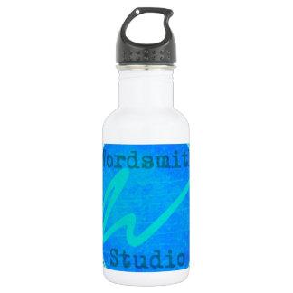 Teal WSS Logo Stainless Steel Water Bottle