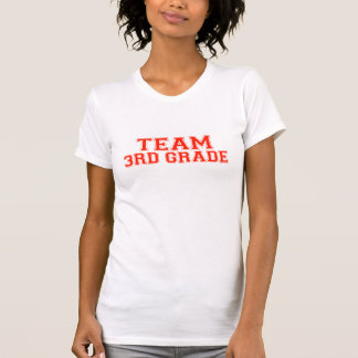 Team 3rd Grade Tshirt