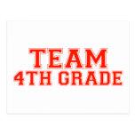 Team 4th Grade Postcards
