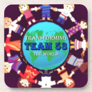 Team 53.jpg beverage coasters