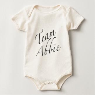 team Abbie Baby Bodysuit