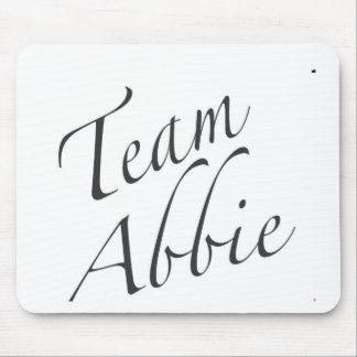 team Abbie Mouse Pad