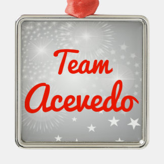 Team Acevedo Christmas Tree Ornaments