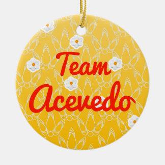 Team Acevedo Ornament