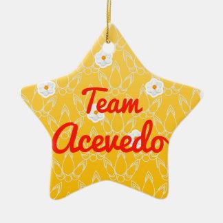 Team Acevedo Christmas Ornaments