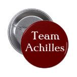 Team Achilles Badge 2 Inch Round Button