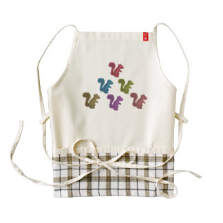 Team Acorn Zazzle HEART Apron